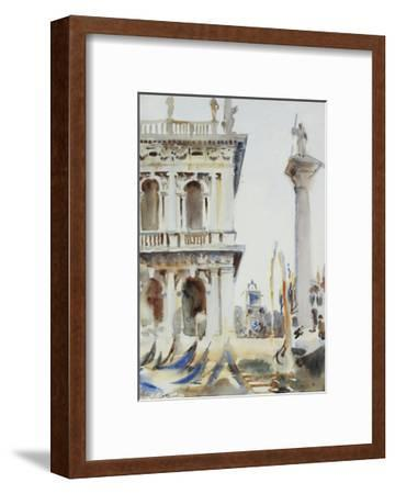 The Corner of the Libreria, with the Column of St. Theodore, Venice, 1904