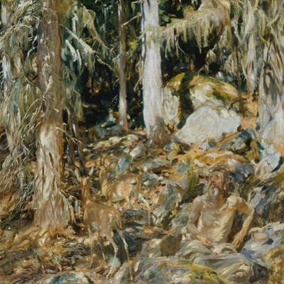 The Hermit (Il solitario), 1908
