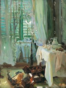 The Hotel Room by John Singer Sargent