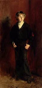 The Late Major E.C. Harrison as a Boy by John Singer Sargent