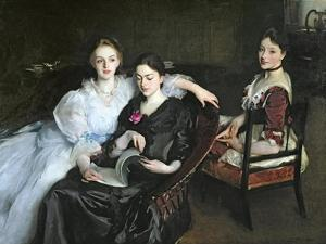 The Misses Vickers, 1884 by John Singer Sargent