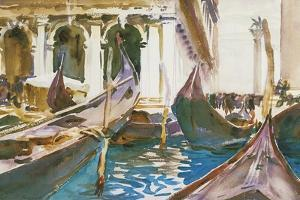 The Piazzetta, Venice by John Singer Sargent