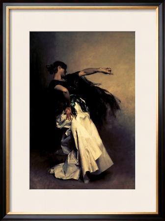 "The Spanish Dancer, Study for ""El Jaleo,"" 1882"