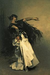 The Spanish Dancer, Study for 'El Jaleo' by John Singer Sargent