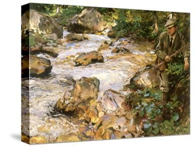 Trout Stream in the Tyrol, 1914