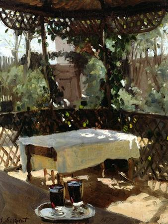Two Wine Glasses, 1874 by John Singer Sargent