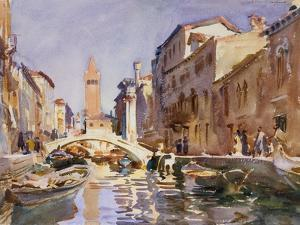 Venetian Canal, 1913 by John Singer Sargent