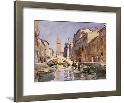 Venetian Canal, 1913