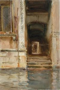 Venetian Passageway, c.1905 by John Singer Sargent
