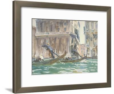 Vue de Venise (sur le canal), vers 1906