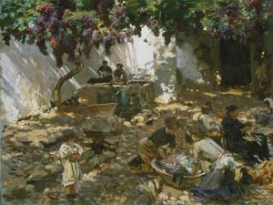 Women at Work by John Singer Sargent