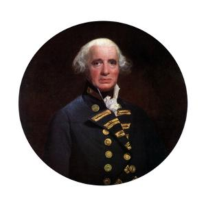 Admiral Richard, Earl of Howe, 1794 by John Singleton Copley