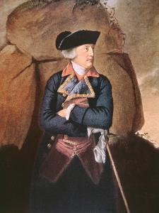 Admiral Richard Howe (Colour Litho) by John Singleton Copley