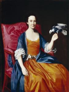 Mrs. Benjamin Hallowell, 1766/67 by John Singleton Copley
