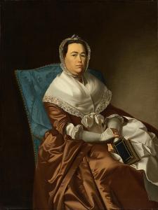 Mrs. James Russell  , c.1770 by John Singleton Copley