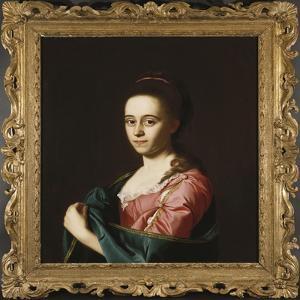 Mrs. Joshua Henshaw Ii by John Singleton Copley