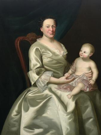 Portrait of Mrs Daniel Rea and Child, 1757