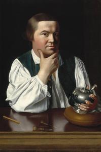 Portrait of Paul Revere by John Singleton Copley