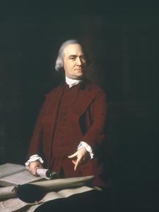 Samuel Adams (1722-1803) by John Singleton Copley