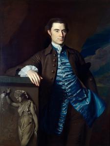 Thaddeus Burr, 1758-60 by John Singleton Copley