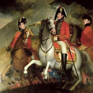 The Battle of the Pyrenees, 1812-15 by John Singleton Copley
