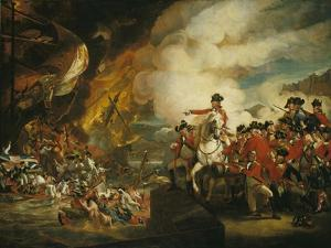 The Siege and Relief of Gibraltar, 13 September 1782 by John Singleton Copley