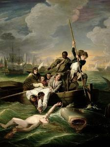 Watson and the Shark, 1782 by John Singleton Copley