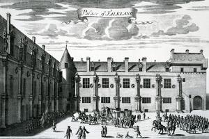 Palace of Falkland, from 'Theatrum Scotiae' by John Slezer, Published 1693 by John Slezer