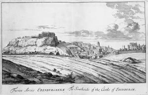 The Southside of the Castle of Edinburgh, from 'Theatrum Scotiae' by John Slezer, 1693 by John Slezer