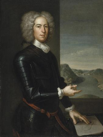 Portrait of Major General Paul Mascarene, 1729