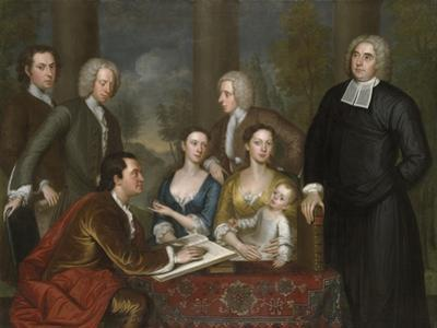 The Bermuda Group, Dean Berkeley and His Entourage, 1728, Reworked 1739