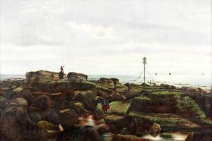 Beacon Rocks, Roker, Sunderland, 1885 by John Smith