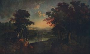 'Landscape', c1750 by John Smith