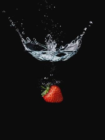 Strawberry in Water