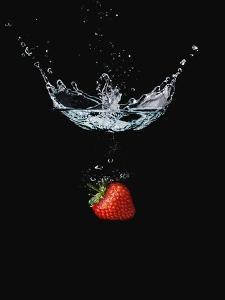 Strawberry in Water by John Smith