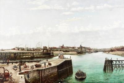 Sunderland Harbour, 1883
