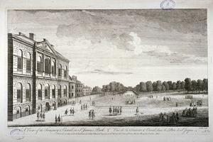The Treasury and the Canal in St James's Park, Westminster, London, 1755 by John Smith