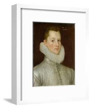 John Smythe of Ostenhanger (Now Westenhanger) Kent, 1579 (Oil on Panel)-Cornelis Ketel-Framed Premium Giclee Print