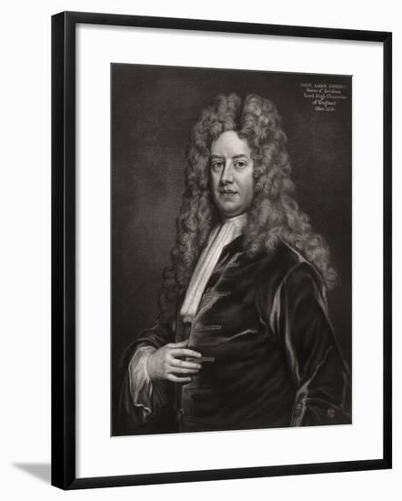 John Somers, 1st Baron Somers, English Politician, 1700S-Godfrey Kneller-Framed Giclee Print