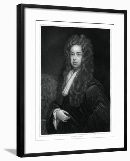 John Somers, 1st Baron Somers, Lord High Chancellor of England-TA Dean-Framed Giclee Print