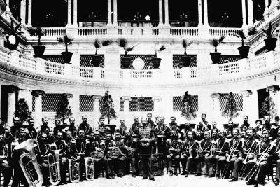 John Sousa and United States Marine Corps Band--Photographic Print