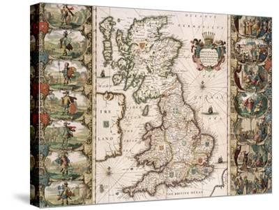 Britain as It Was Devided in the Tyme of the Englishe Saxons, 1616
