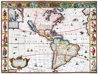 New World Map, 1616