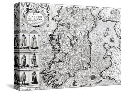 "The Kingdom of Ireland, ""Theatre of the Empire of Great Britain"", 1610"