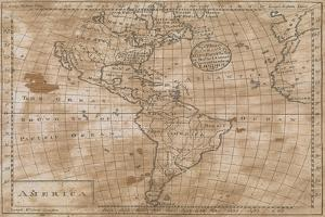 North and South America in its Principal Divisions, London, 1767 by John Spilsbury