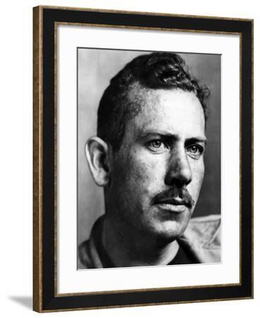 John Steinbeck, American Author, 1930s--Framed Photo
