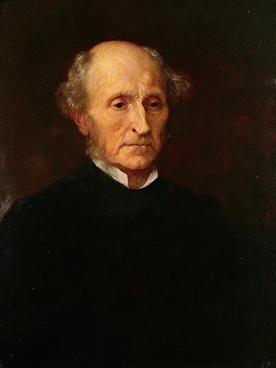 John Stuart Mill, 1873-George Frederick Watts-Giclee Print