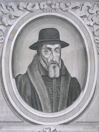 Oval Portrait of John Foxe, C1570