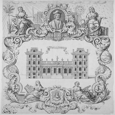 St Paul's School, City of London, 1700