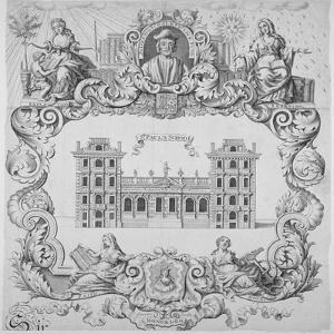 St Paul's School, City of London, 1700 by John Sturt